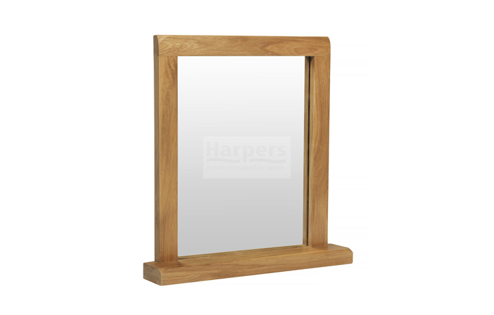 Essex Rustic Oak Furniture Range - Essex Rustic Oak Dressing Table Mirror