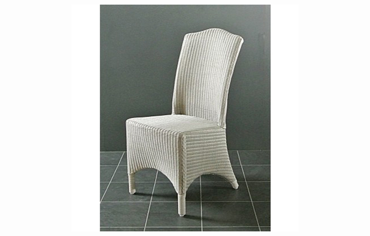 Suffolk Painted Collection White, Grey, Cream & Stone - Suffolk Painted Lloyd Loom Olivia Dining Chair