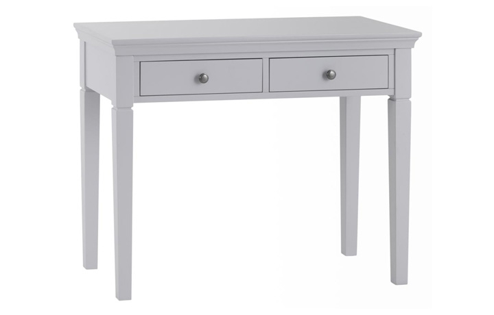 Salthouse Grey Painted Bedroom Collection - Salthouse Grey Painted 2 Drawer Dressing Table