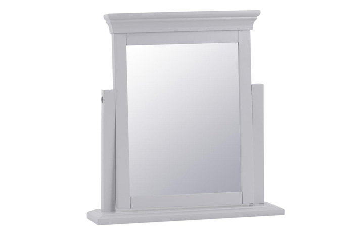 Salthouse Grey Painted Bedroom Collection - Salthouse Grey Painted Trinket Mirror
