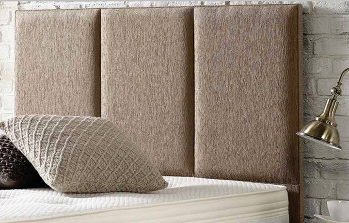 3ft Headboard Range - 3 Panel Upholstered Headboard