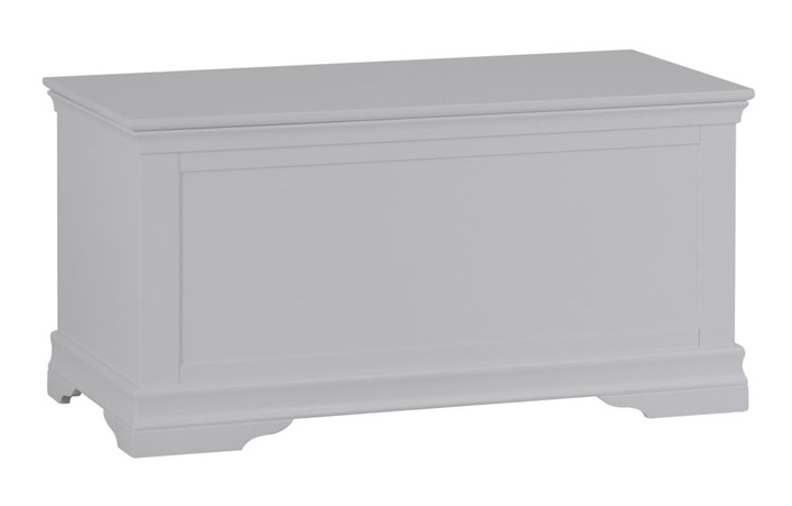 Salthouse Grey Painted Bedroom Collection - Salthouse Grey Painted Blanket Box