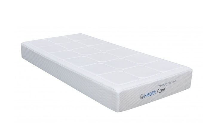 3ft Single Mattress & Divan Bases - HealthCare Memory Delux 3ft Mattress