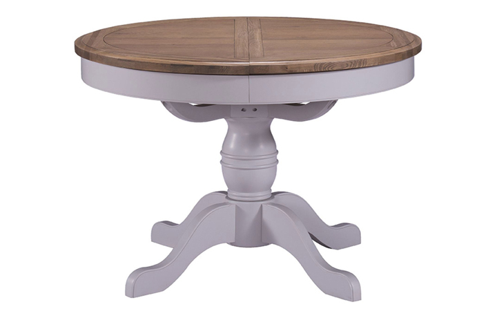tables - Salthouse - Dining - Extending Round Pedestal Dining Table