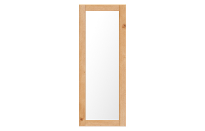 mirrors - Country Pine Tall Wall Mirror