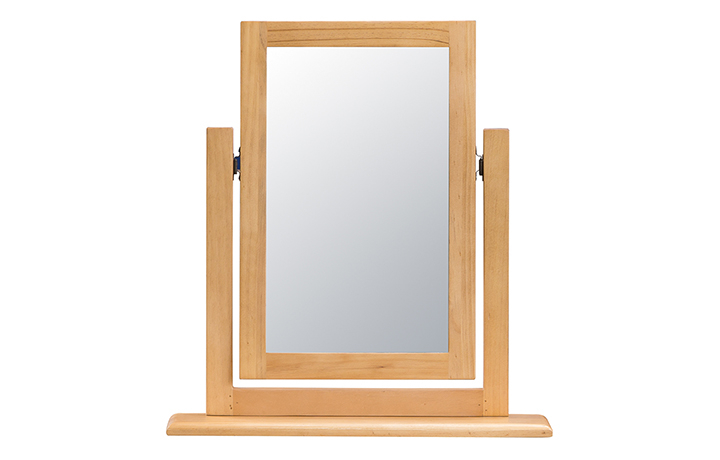 mirrors - Country Pine Single Dressing Table Mirror