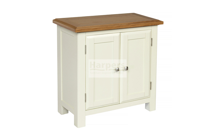 Sideboards & Cabinets - Kent Cream Painted Small 2 Door Cabinet