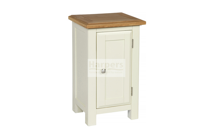 Sideboards & Cabinets - Kent Cream Painted Small 1 Door Cabinet