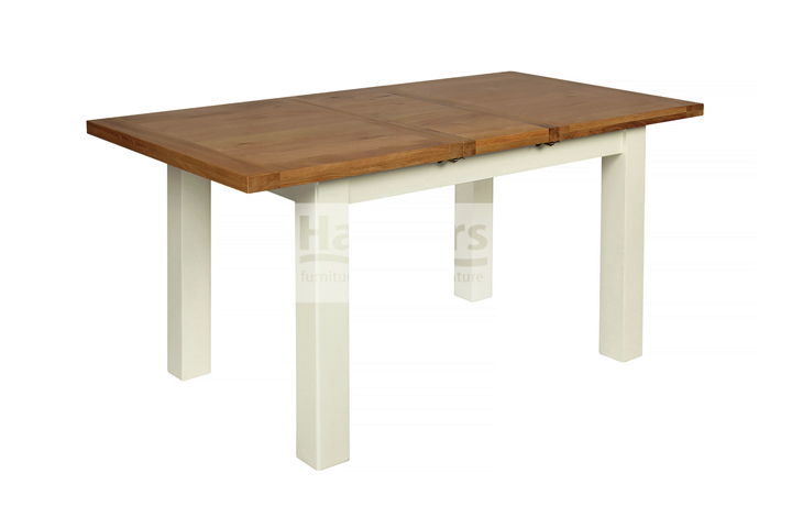 dining-tables - Kent Cream Painted Extending Table