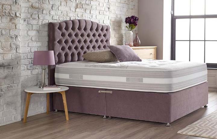 5ft King Size Mattress & Divan Bases - 5ft Harpers King Size Space 1000 Mattress Zero Gravity Technology