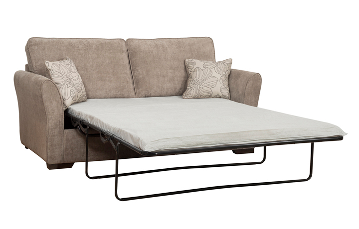 Sofa Beds - 140cm Furnham Sofabed With Standard Mattress