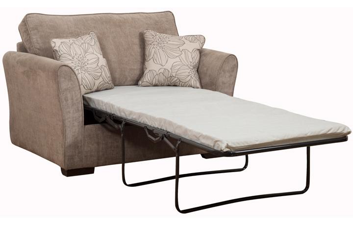 Sofa Beds - 80cm Furnham Sofabed Chair Bed With Deluxe Mattress