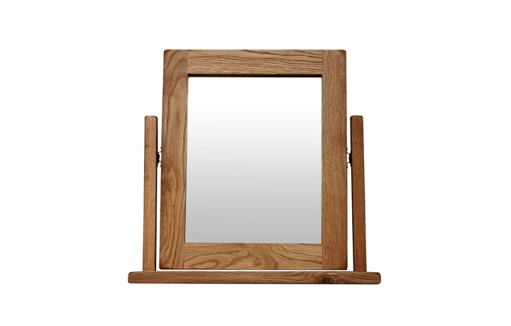 mirrors - Sussex Rustic Oak Vanity Mirror