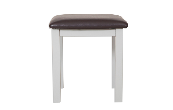 Dressing Tables & Stools - Henley Grey Painted Dressing Stool