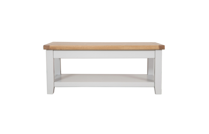 Painted Coffee Tables - Henley Grey Painted Coffee Table