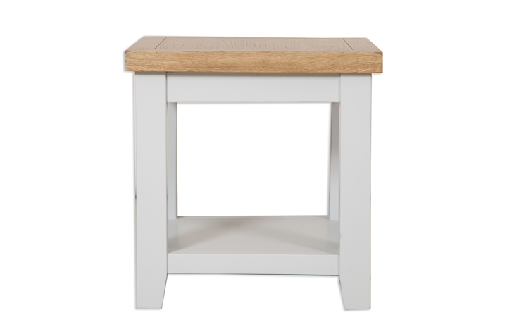 Coffee & Lamp Tables - Henley Grey Painted Lamp Table