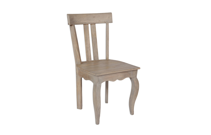 Chairs & Bar Stools - Montpellier Solid Mango Low Back Chair