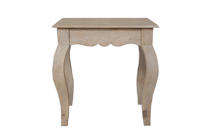 Coffee & Lamp Tables - Montpellier Solid Mango Lamp Table