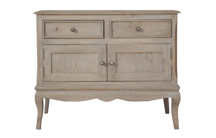 Montpellier Mango Collection (ONLINE ONLY) - Montpellier 2 Door 2 Drawer Sideboard