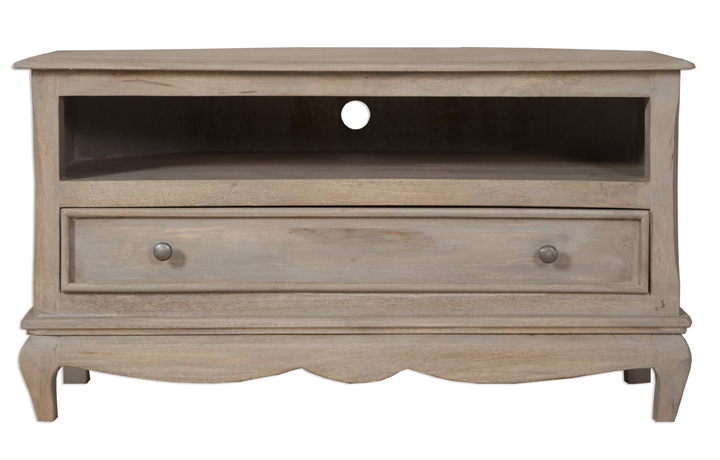 Montpellier Mango Collection (ONLINE ONLY) - Montpellier Corner TV Cabinet