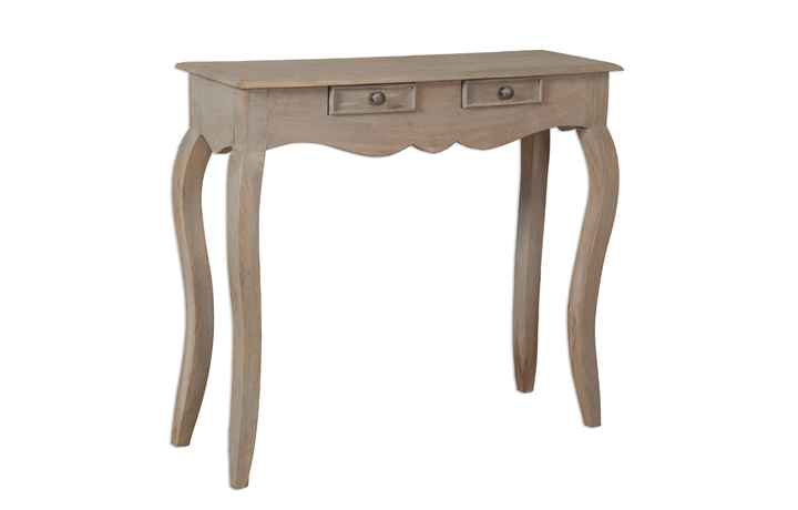 Montpellier Mango Collection (ONLINE ONLY) - Montpellier 2 Drawer Console Table