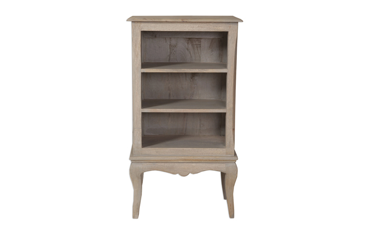 Montpellier Mango Collection (ONLINE ONLY) - Montpellier Mango Small Bookcase/DVD Rack