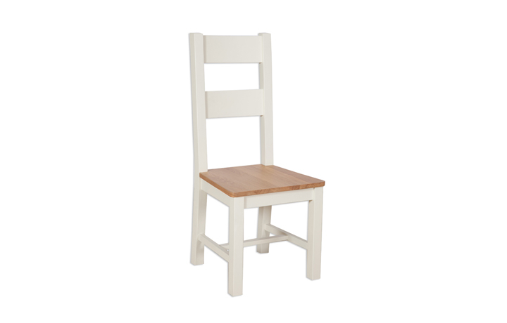 Chairs & Bar Stools - Chelsworth Ivory Painted Dining Chair