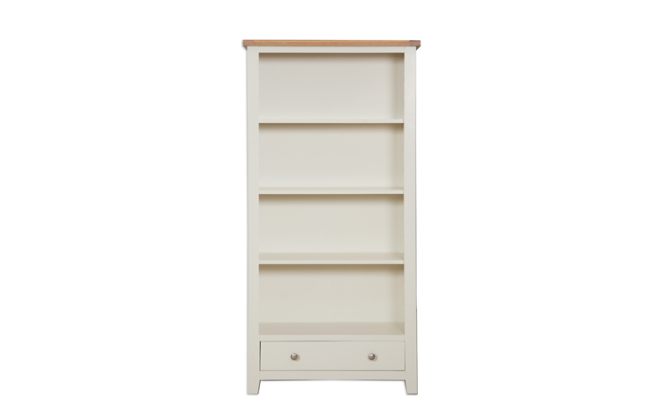 Chelsworth Ivory Painted Collection - Chelsworth Ivory Painted Large Bookcase
