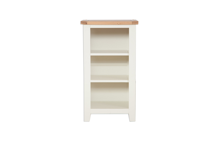 Chelsworth Ivory Painted Collection - Chelsworth Ivory Painted Small Bookcase/DVD Rack