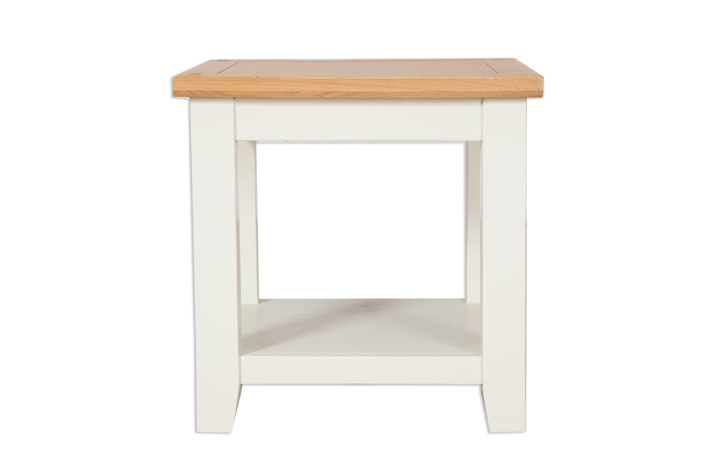 Chelsworth Ivory Painted Collection - Chelsworth Ivory Painted Lamp Table