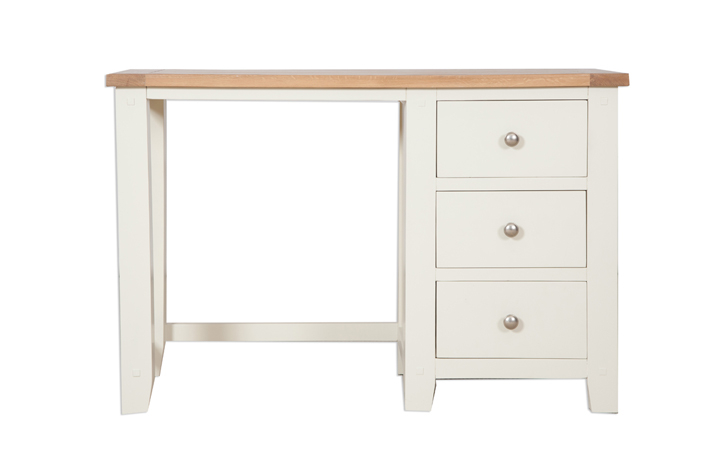 dressing-tables - Chelsworth Ivory Single Dressing Table