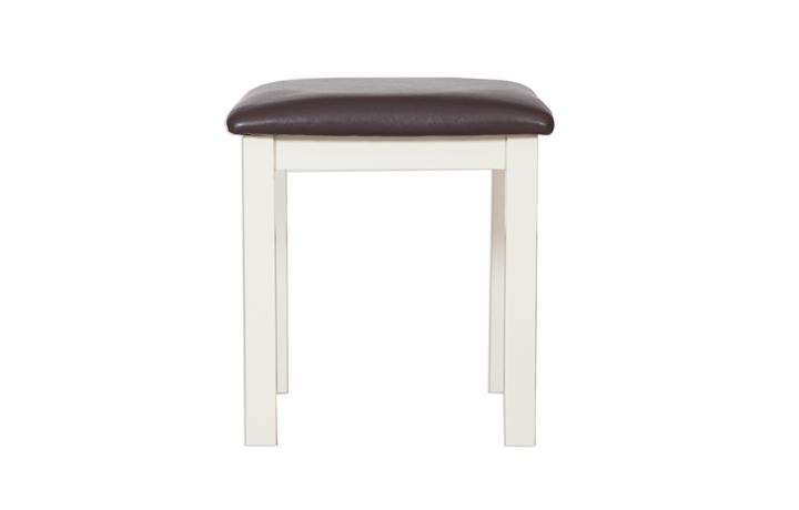 Chelsworth Ivory Painted Collection - Chelsworth Ivory Painted Dressing Stool