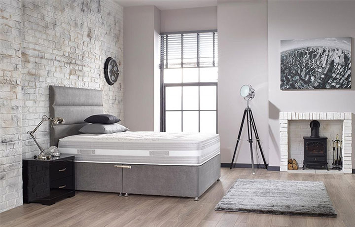5ft King Size Mattress & Divan Bases - 5ft Harpers King Size Support 1000 Mattress
