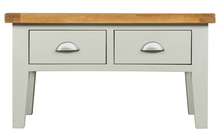 Wexford Grey Painted Collection - Wexford Grey Painted Coffee Table With Drawers