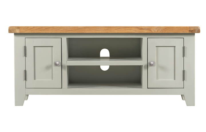 Wexford Grey Painted Collection - Wexford Grey Painted Large TV Unit