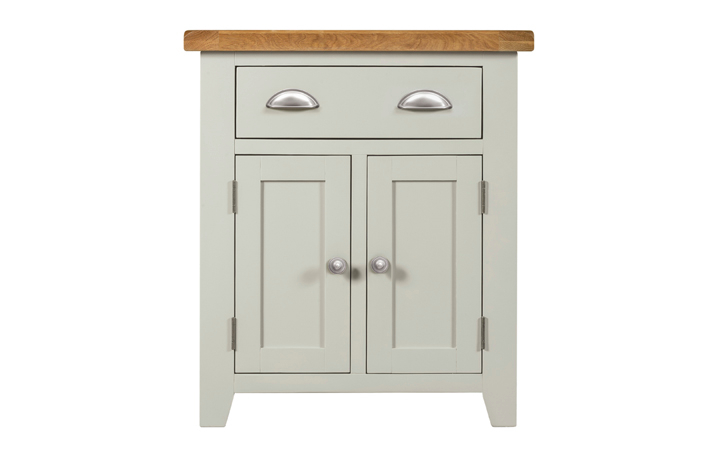 Wexford Grey Painted Collection - Wexford Grey Painted Small Sideboard 2 Doors 1 Drawer