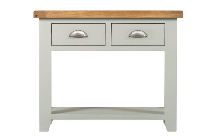 Wexford Grey Painted Collection - Wexford Grey Painted Console Table 2 Drawers