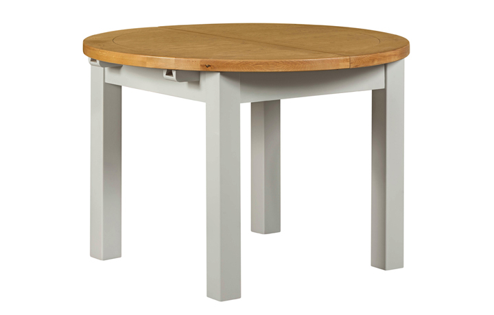 dining-tables - Wexford Grey Painted Round Extending Table