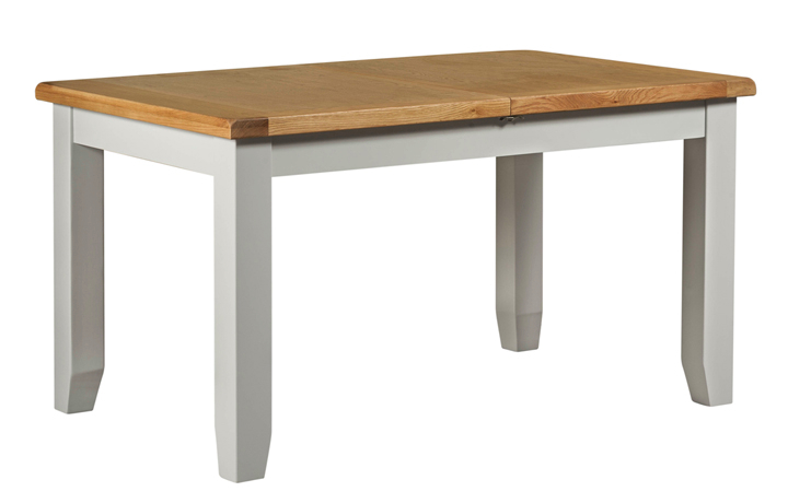Wexford Grey Painted Collection - Wexford Grey Painted Small Extending Dining Table