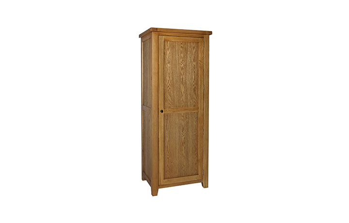 wardrobes - Essex Oak - Bedroom - Wardrobe - Single Robe