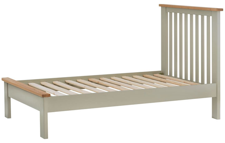 Beds & Bed Frames - Pembroke Stone Painted 3ft Single Bed Frame