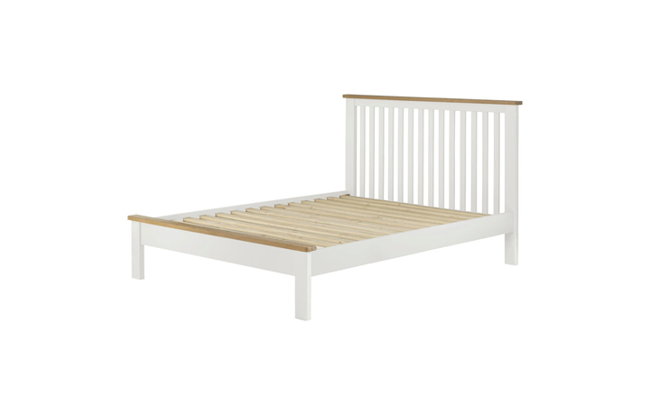 Bed Frames - Pembroke White Painted 4ft6 Double Bed Frame