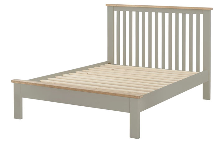 Bed Frames - 4ft6in Pembroke Stone Painted Double Bed Frame
