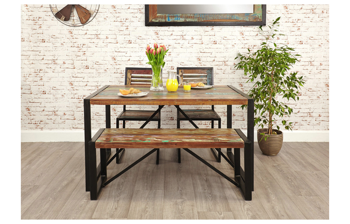 Dining Tables - Mali Reclaimed Pine Small Dining Table