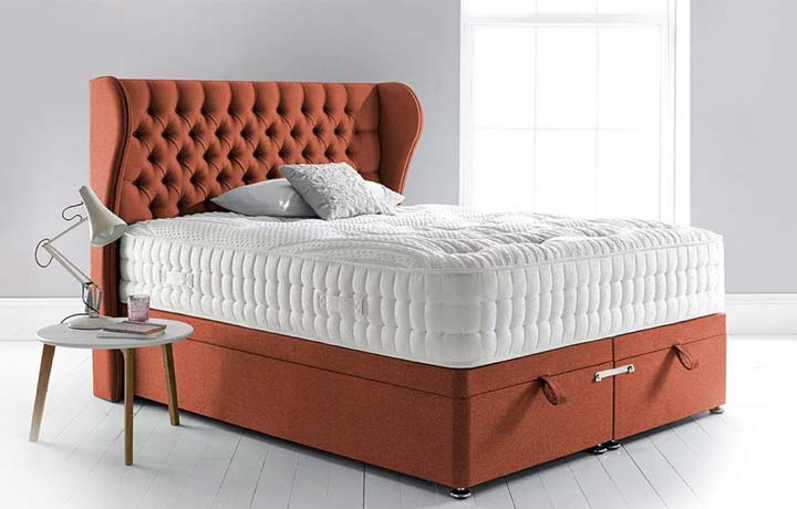 5ft Kingsize Mattress & Divan Bases - 5ft Kingsize Harpers Space 3000 Mattress Zero Gravity Technology
