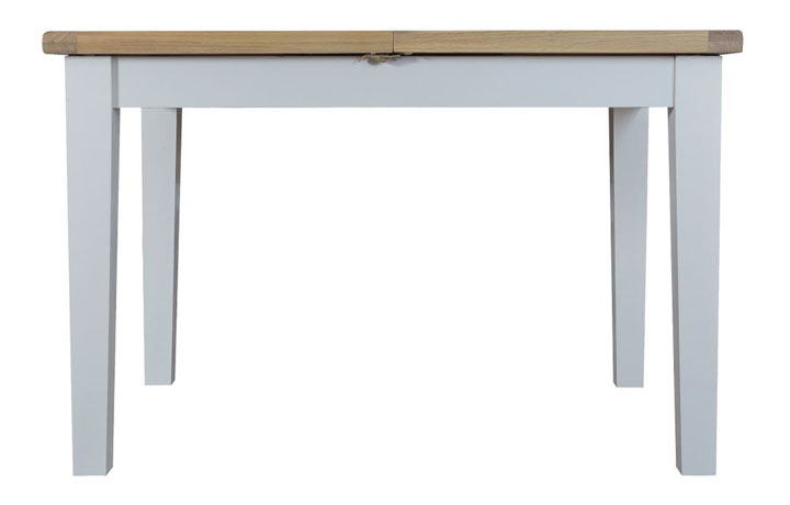 Dining Tables - Regency Grey Painted 120cm Extending Table