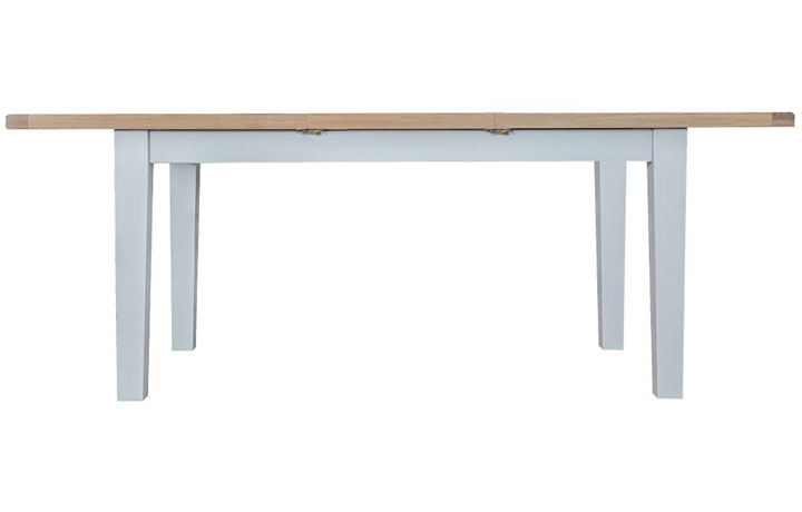 dining-tables - Regency Grey Painted 160cm Extending Table