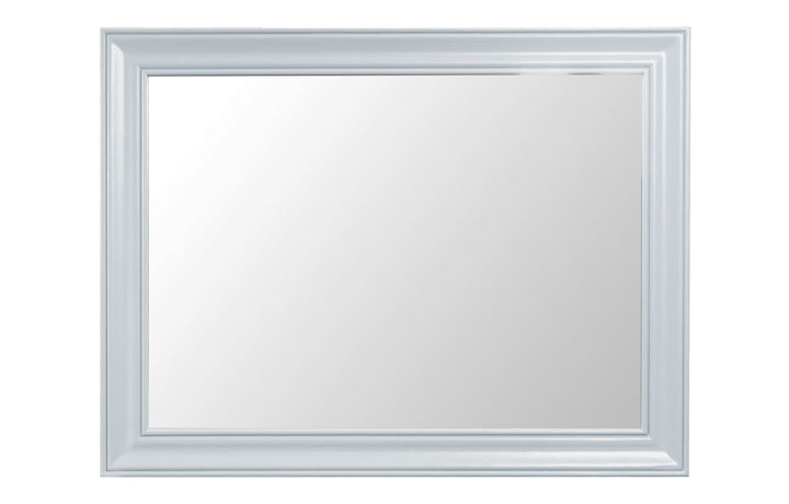 Mirrors - Regency Grey Painted Large Mirror