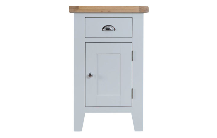 Regency Grey Painted Collection - Regency Grey Painted Small Cupboard