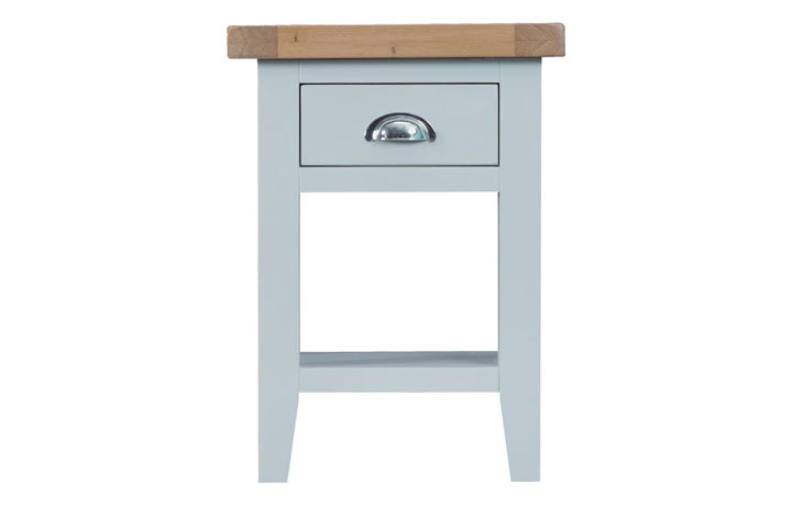 Regency Grey Painted Collection - Regency Grey Painted Side Table